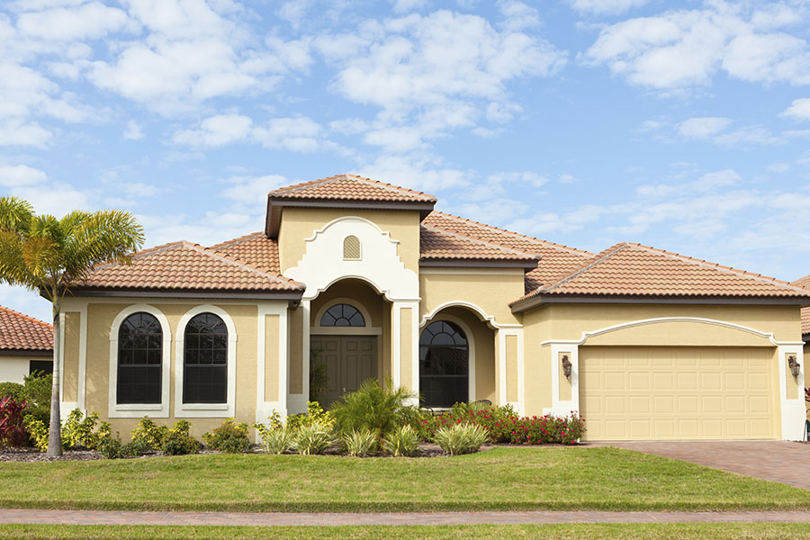 Home Insurance - Single Story Home in Florida